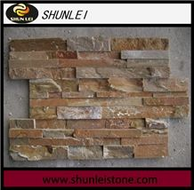 Slate Cultured Stone for Wall Cladding, Stacked Stone Veneer