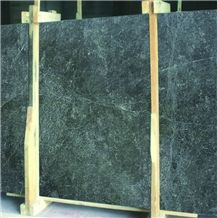 Captain Black Polished Marble Floor Tiles, Wall Tiles, Kaptan Black Marble Slabs, Tiles