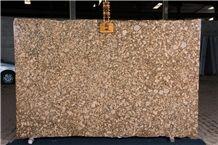 Giallo Fiorito Granite Tiles & Slab, Yellow Granite Flooring Tiles, Walling Tiles