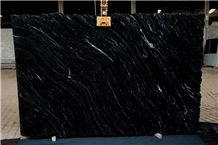Via Lactea Granite Tiles & Slab, Black Brazil Granite Tiles & Slab