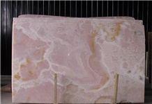 Pink Onyx Slabs & Tiles, Polished Onyx Floor Tiles, Wall Tiles