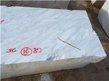 Volakas White Marble Blocks Greece