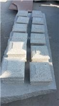 Hot Sale High Quality G682 Yellow Granite Pillar & Pier Caps, Winggreen Stone