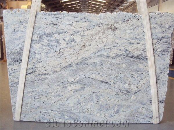 White Ice Granite Slabs Brazil White Granite 418786