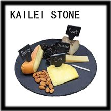 Jiangxi Black Slate Cheese Board for Kitchen Ideas