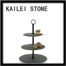 Slate Cake Handle, Jiangxi Black Slate Handle