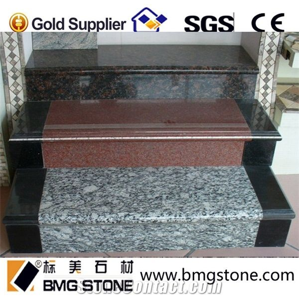 Moden Design Granite Staircase For House Project From