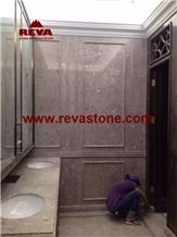 Betulla Grey Rose Polished Marble Tiles & Slabs for Floor and Wall Covering