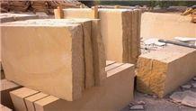 China Yellow Sandstone Blocks,Yunnan Beige Sandstone Block for Floor Stone