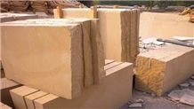 China Yunnan Beige Sandstone Block for Wall Clading Tiles and Wall Clading Tiles