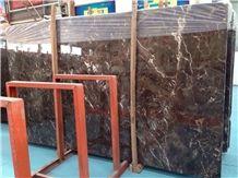 Marble Tiles/Marble Slabs / Brown Marble / Dark Emperador Marble Slabs/ China Brown Marble/Chinese Marble