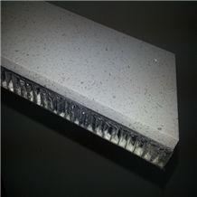 Lightweight White Quartz Stone Honeycomb Panels for Wall Cladding