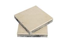 Veneer Beige Limestone Honeycomb Panel