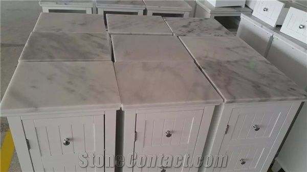 white marble table top. Guangxi White Marble Cabinet Top,Chinese Carrara Table Tops,polished Furniture Tops,marble Tops Top