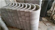 Guangxi White Marble Columns,China Carrara White Marble Ionic Columns Doric Columns,China White Marble Architectural Columns,Marble Stone Pillars