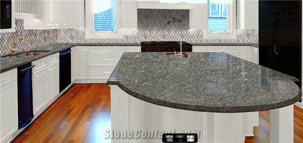 Steel Grey Granite Countertops Kitchen