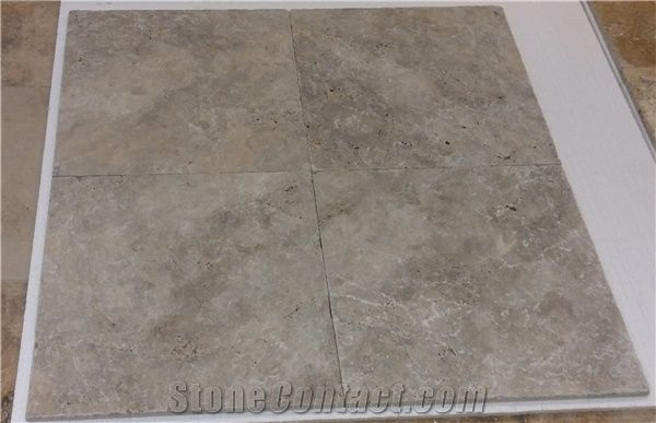 Silver Travertine Tiles Grey Travertine Floor Tiles Wall Tiles
