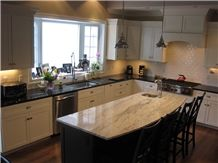 Juparana Bianco Granite Kitchen