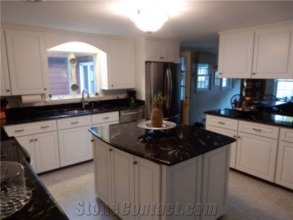 Titanium Granite Kitchen Countertops From United States