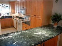 Verde Mare Marble Kitchen Tops