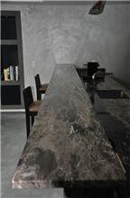 Frappuccino Marble Kitchen Countertops