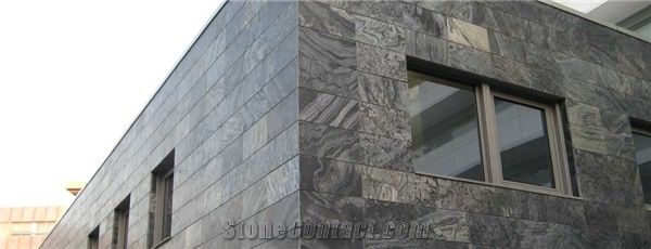 Ostrich Grey Slate Exterior Wall Tiles Grey Slate Tiles