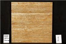 Golden Travertine, Mst Golden Siena Vein Cut