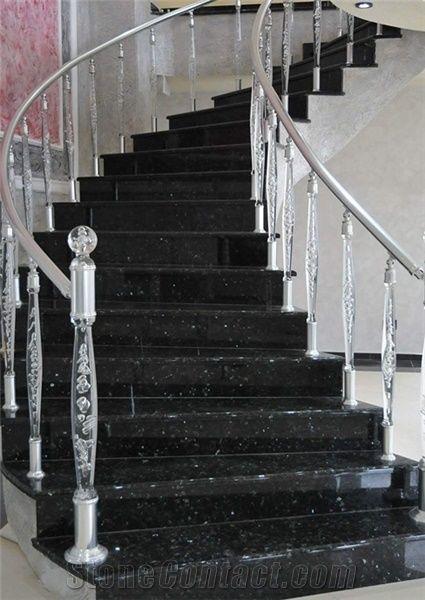 Emerald Pearl Granite Stairs Black Granite Stairs Steps