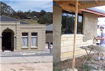 Gambier Limestone Render Grade Limestone Wall Tile