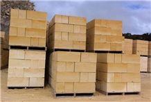 Gambier Limestone Retaining Wall Blocks 290x660x240mm