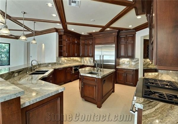 Fantasy Brown Quartzite Countertops From United States