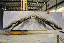 Scandalous Marble Bookmatched Slabs