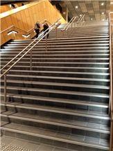 Kimberley Black Granite Stairs, Steps
