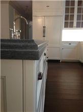Laminated Edge Detail, Custom Designed, Pietra Cardosa Kitchen Countertop