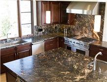 Juparana Apiaka Granite Kitchen Countertop