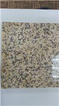 China Karamay Gold Granite Tiles & Slabs, Granite Exterior Wall Floor Tiles, Polished Surface Flooring Paving Stone, Granite Interior Floor Wall Covering Tiles Slabs, Granite Skirting Pattern