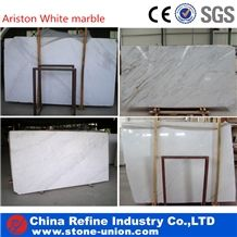 Ariston White Marble Tiles & Slabs, Ariston Royal White Polished Marble Slabs Wall Covering Tiles,Greece Natural White Marble Manufacturer Supply for Hotels, Shopping Mall