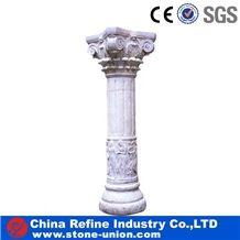 Best Column Manufacturer, Export Rome Column, Hunan White Marble Column,White Marble Column, Roman Column, Marble Pillar, Baoxing White Marble Roman Columns,Roman Pillars Column Molds