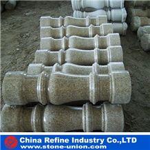 Grey Granite Pillar, G603 Granite Balustrade,Decorative Pillar ,Wedding Column,Stone Column