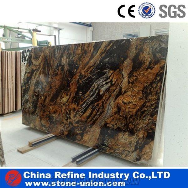 Magma Gold Granite Tile Slab For Floor Magma Granite