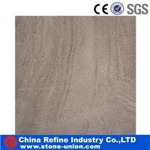 Purple Reticulate Sandstone Slabs & Tiles, China Brown Sandstone,Chocolate Sandstone,Dark Tan Sandstone