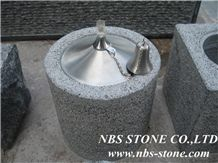 G654 Granite Natural Stone Oil Lanterns, Oil Burners