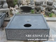 Granite Natural Stone Oil Lanterns,Grey Granite Oil Lanterns