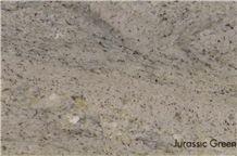Jurassic Green India Granite Slabs, Tiles