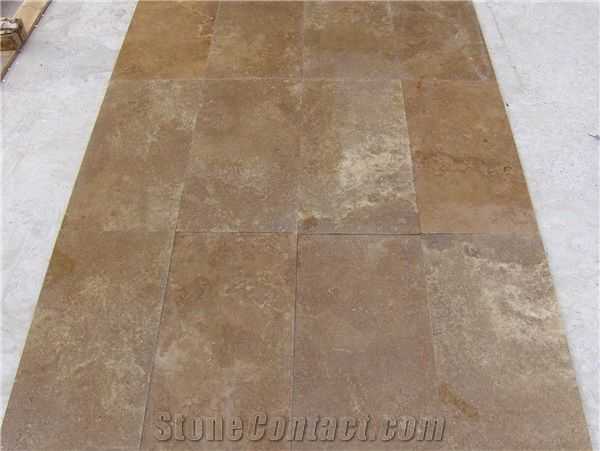 Noce Travertine Tiles Slabs Brown