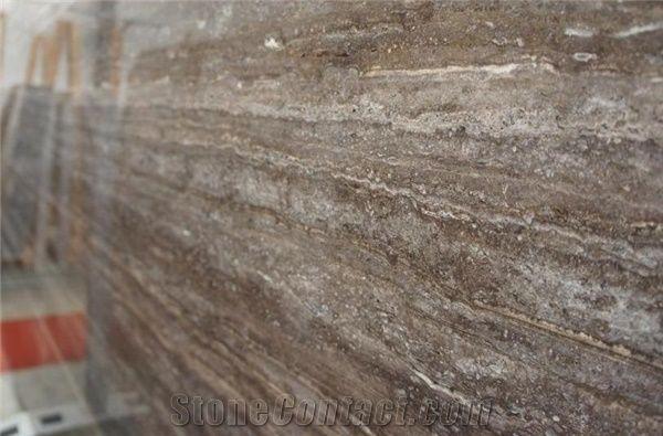 Silver Travertine Titanium from Turkey - StoneContact com