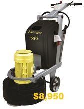 Avenger 550 Floor Grinder Polisher