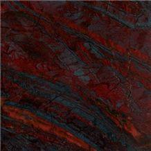 Iron Red Granite Slabs, China Red Granite