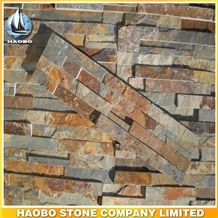 Exterior Wall Cladding Reef Stacked Stone Veneer Wholesale Slate