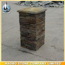 Wholesale Ledge Pillar Cultural Stone Column